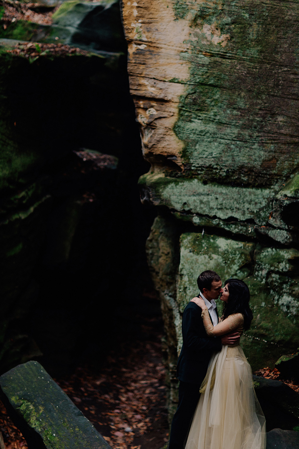Engagement session at Cuyahoga Valley National Park