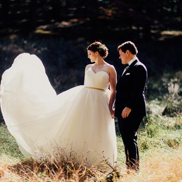 Fall Wedding at Hines Hills Cuyahoga National Valley Park