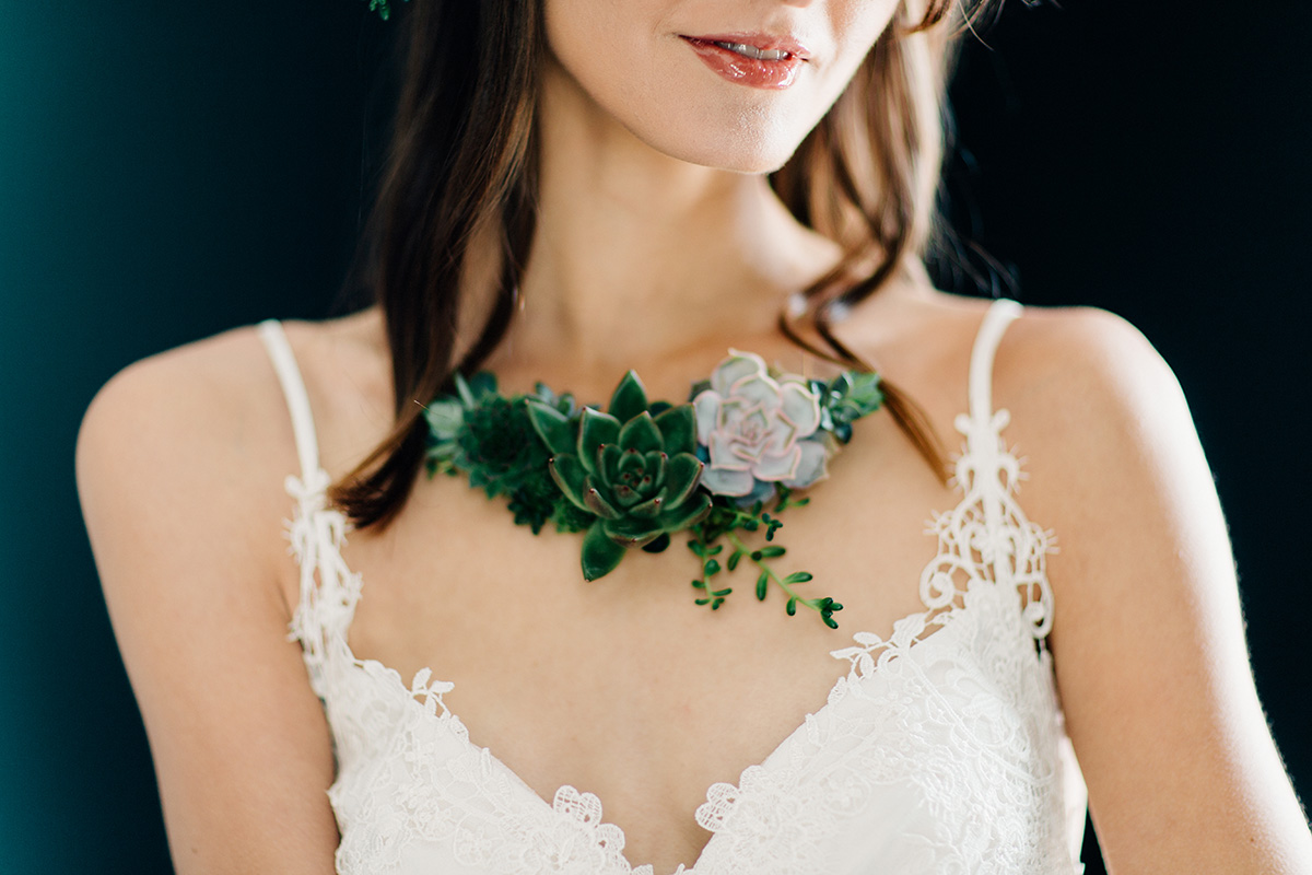 Live Succulent Jewelry Line addison jones photography