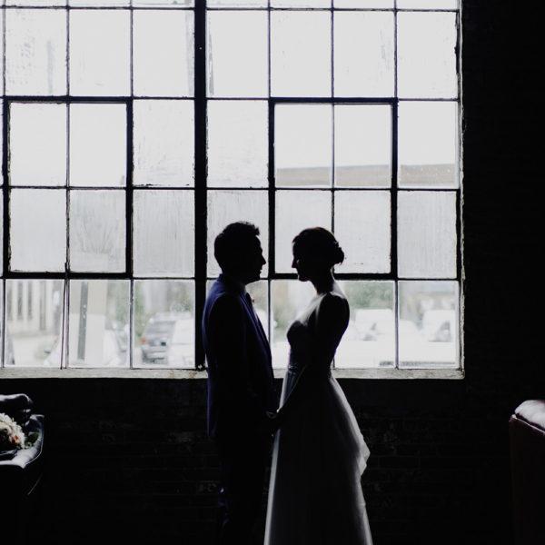 Industrial Wedding Columbus Ohio Meredith+Drue