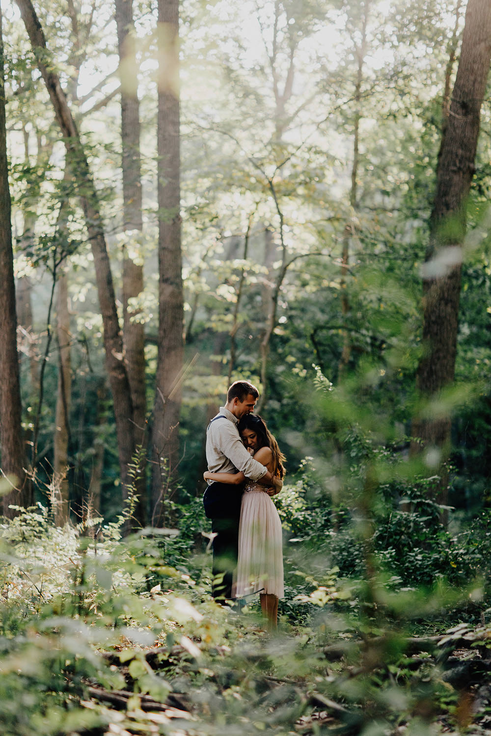 ann-arbor-michigan-foggy-morning-engagement-session-nichols-arboretum-17