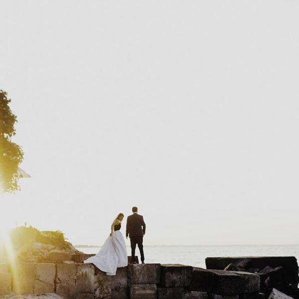 Lake Erie Airbnb Backyard Wedding Cleveland,Ohio